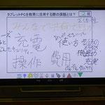 タブレット活用講座「みらいスクールステーション体験」