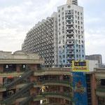 Ein bekanntes Einkaufszentrum in Fuzhou mit einem sehr großen Innenhof. (2)