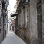 Die ruhigen, im Sommer kühlen Gassen Xiamens. Meine chinesischen Freunde haben Angst, dorthin zu gehen. Ich fühle mich hier sicher. Seit Jahren.