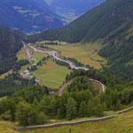 Blick ins Puschlav von der Alp Grüm