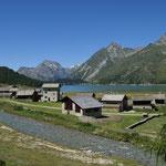 Weiler Isola am Silsersee