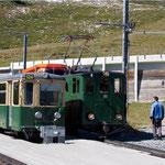 Alte Wagen der Wengeralpbahn