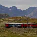 Die RHB auf dem Bernina