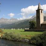 Kirche von Sils Baselgia