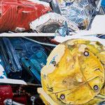 round up 2018, Acryl auf Leinwand 115 x 115 cm