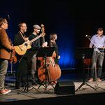 "Moderation ""Heimat"" Mössinger Kulturherbst 2017, Sandra Ligas und Musiker"