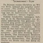 Dagblad de Stem - Harmoniezaal Rijen - 18 jan. 1963