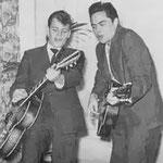 Jack & Woody (1960/1961) vlnr: Cor 'Woody' van Leest - Jack de Nijs  (bron: Muziek-Parade, januari 1961)