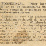 Cora Konings: Brabants Nieuwsblad - november 1963