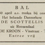 The Scottelli's: De Eendrachtbode 25-4-1968
