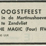 THE MAGIC FOUR: Dagblad de Stem 14-9-1973