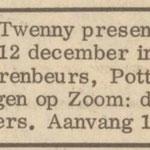 THE TIMONTERS: Hitweek 10-12-1965 (Tenny Twenny)