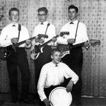 The New Tellstars (1963) vlnr: Henk van Overveld (slaggit.) - Willy Hilberink (bas) - Cees Dierks (sologit.) - Jan van Tilburg (drums)