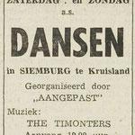 THE TIMONTERS: Dagblad de Stem 16-8-1966 (Siemburg)
