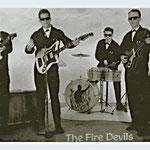 THE FIRE DEVILS (1963) - vlnr: Riny Oostvogels, Geert Keij, Gerry Maas en Jos Heeren.