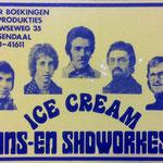 ICE CREAM dans- en showorkest