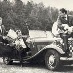 TRIO THE STRANGERS vlnr: Cees Geers, Cor van Etten, Jac Geers