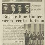 THE BLUE HUNTERS: Dagblad de Stem 16-7-1964