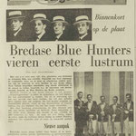 THE BLUE HUNTERS: Dagblad de Stem 16-7-1964