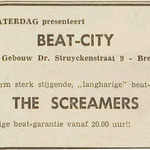 The Screamers - Dagblad De Stem 23 april 1965