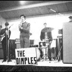 """THE DIMPLES Optreden tijdens groot evenement in de veehallen te Etten-Leur voor de """"Tienerhoeve"""""""