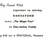 THE MAGIC FOUR traden op 21-09-1968 en 14-12-1968 in de Eratozaal (Kade, Roosendaal) georganiseerd door de Big Sound Club