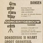 THE TIMONTERS: PZC 4-3-1966 (Concertgebouw Vlissingen)