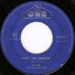 Jack Dens & The Swallows - Won't You Anymore (CNR 1961) een compositie van Jack en Rudolph (Karel) de Nijs.