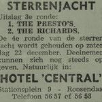 THE PRESTO'S - september 1962