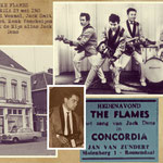 THE FLAMES - Optreden Concordia, Roosendaal 29 mei 1965