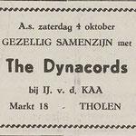 The Dynacords (De Eendrachtbode 2-10-1969)