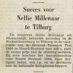 Nellie Millenaar - Tilburg 22 juni 1966.