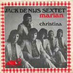 Jack de Nijs Sextet - Marian/Christina (1972 - JR Imperial)