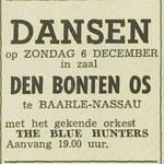 THE BLUE HUNTERS: Dagblad de Stem 5-12-1964