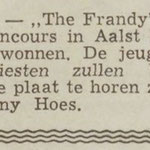 THE FRANDY'S: Dagblad de Stem 5-7-1963