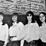 THE SELENE'S in Hamburg 1967.