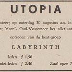 LABYRINTH: De Eendrachtbode 28-8-1969