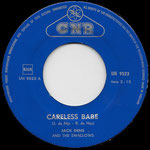 Jack Dens & The Swallows - Careless Babe (CNR UH 9523) 1961