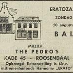 DE PEDRO'S: Dagblad De Stem 18 augustus 1972
