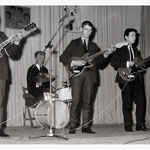 THE HIGH MOOR ROCKERS (ca.1964) - vlnr: Hans Mies, Wilfried Sluijts, Wim Dronkers en René Adriaansen