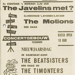 THE TIMONTERS: PZC 24-12-1965 (Concertgebouw Vlissingen)