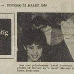 Annet Hesterman en Armand (22 maart 1966)