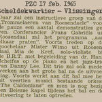 PZC - Scheldekwartier Vlissingen - 26 feb. 1965