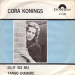 CORA KONINGS - single Polydor 1965