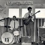 The Jumping Sharks (1964) vlnr: Gerrit Brusselaars, Cor van Etten, Tonnie Bastiaanse, Cees Geers