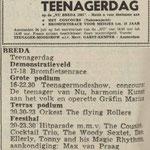 THE FLYING ROLLERS: Dagblad de Stem 24 juli 1961