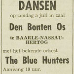THE BLUE HUNTERS: Dagblad de Stem 4-7-1964