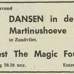 THE MAGIC FOUR: Dagblad de Stem 19-5-1972