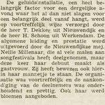 Nellie Millenaar - Nieuwendijk 18 maart 1964.