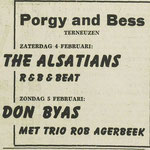 THE ALSATIANS - Dagblad de Stem 4-2-1967